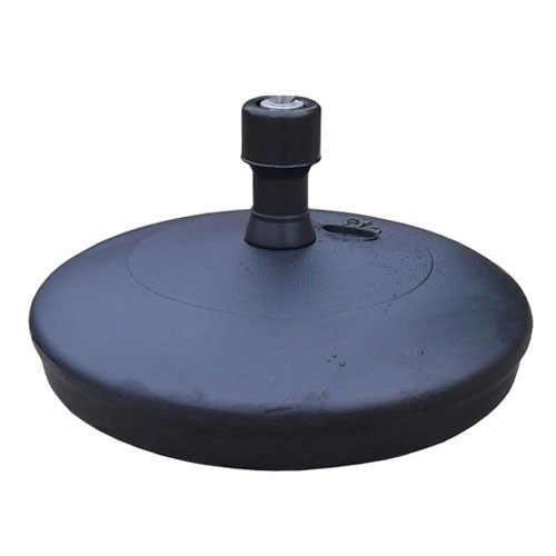 black water parasol base