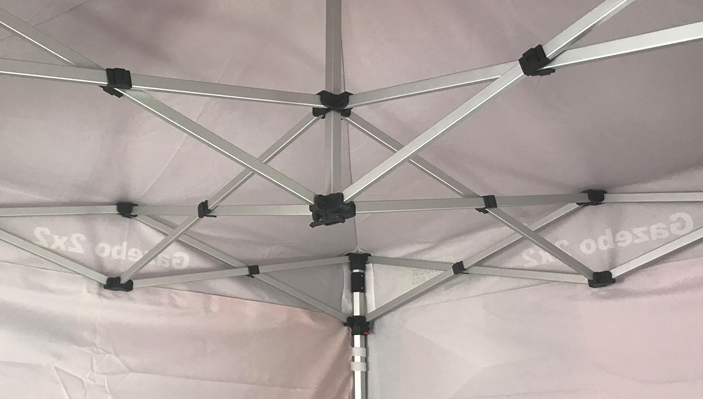 Gazebo pop up system