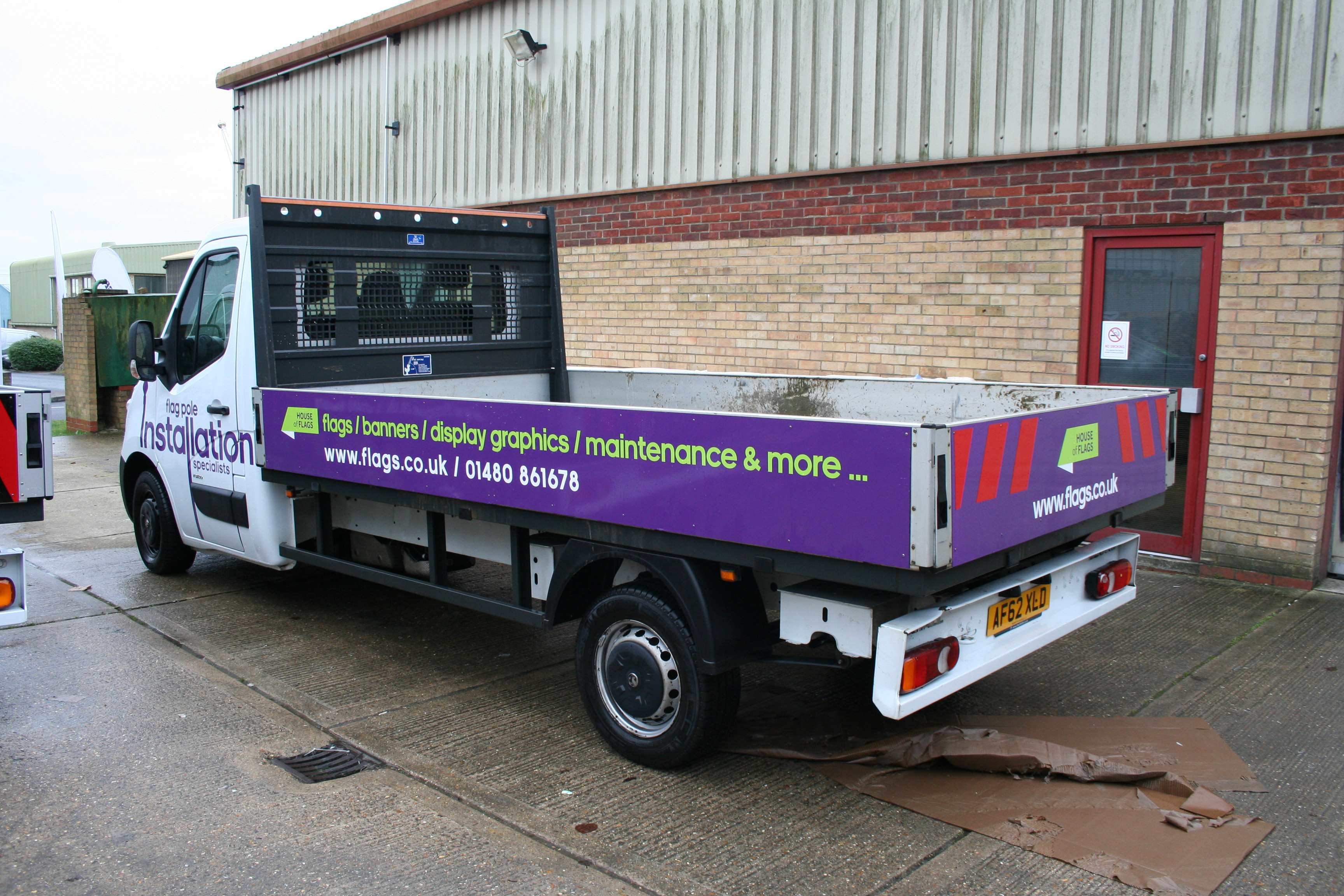 Vehicle Wraps and Graphics by House of Flags